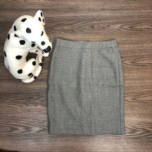 NWT J. Crew No. 2 Pencil Skirt Size 0 Petite